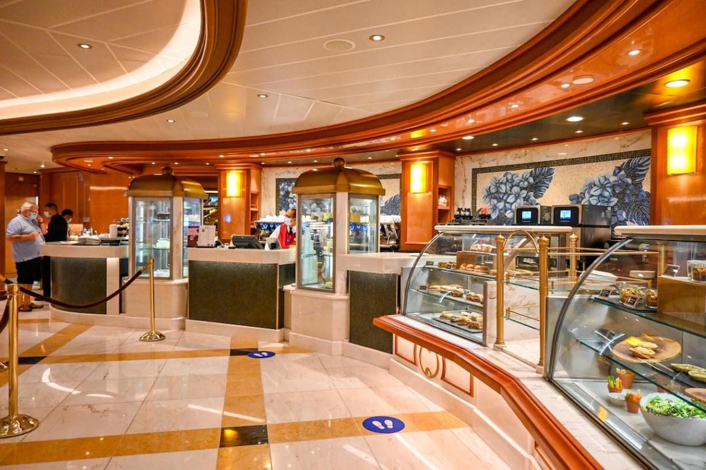 Princess Cruises from Southampton, Sky Princess international cafe