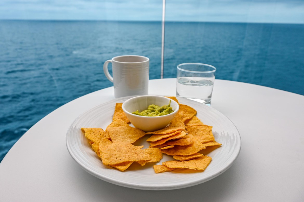 going on a cruise alone, room service