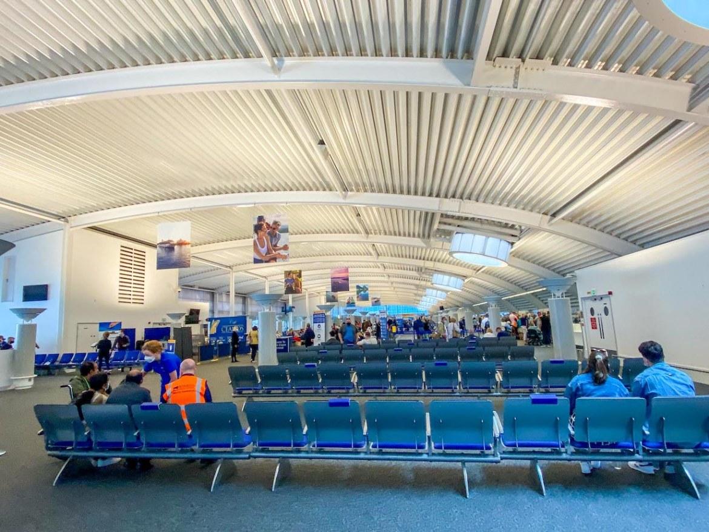 Southampton Ocean Cruise Terminal inside