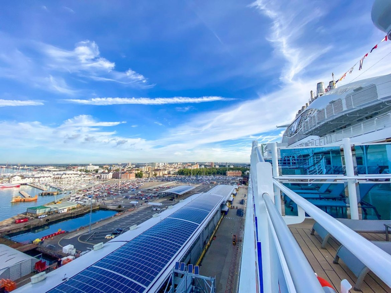 Princess Cruises Southampton ocean cruise terminal