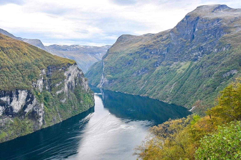 Bergen to Alesund, Geirangerfjord