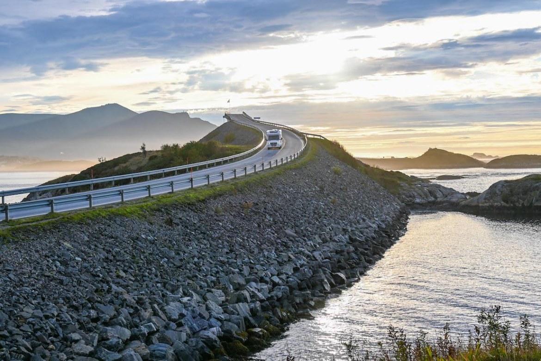 Atlantic Ocean Road Norway, bridge