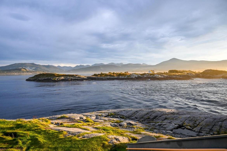 Atlantic Ocean Road Norway, ocean views