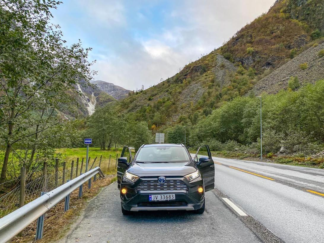 Norway road trip, car hire in Norway