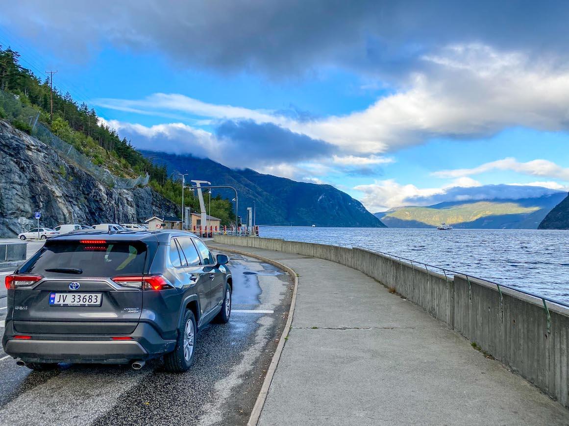 Bergen to Alesund, car hire from Bergen