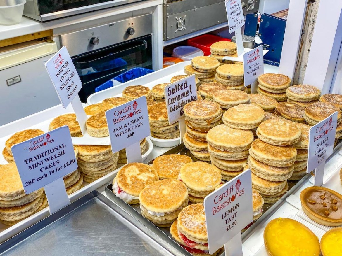 things to do in Cardiff, Cardiff Market welsh cakes