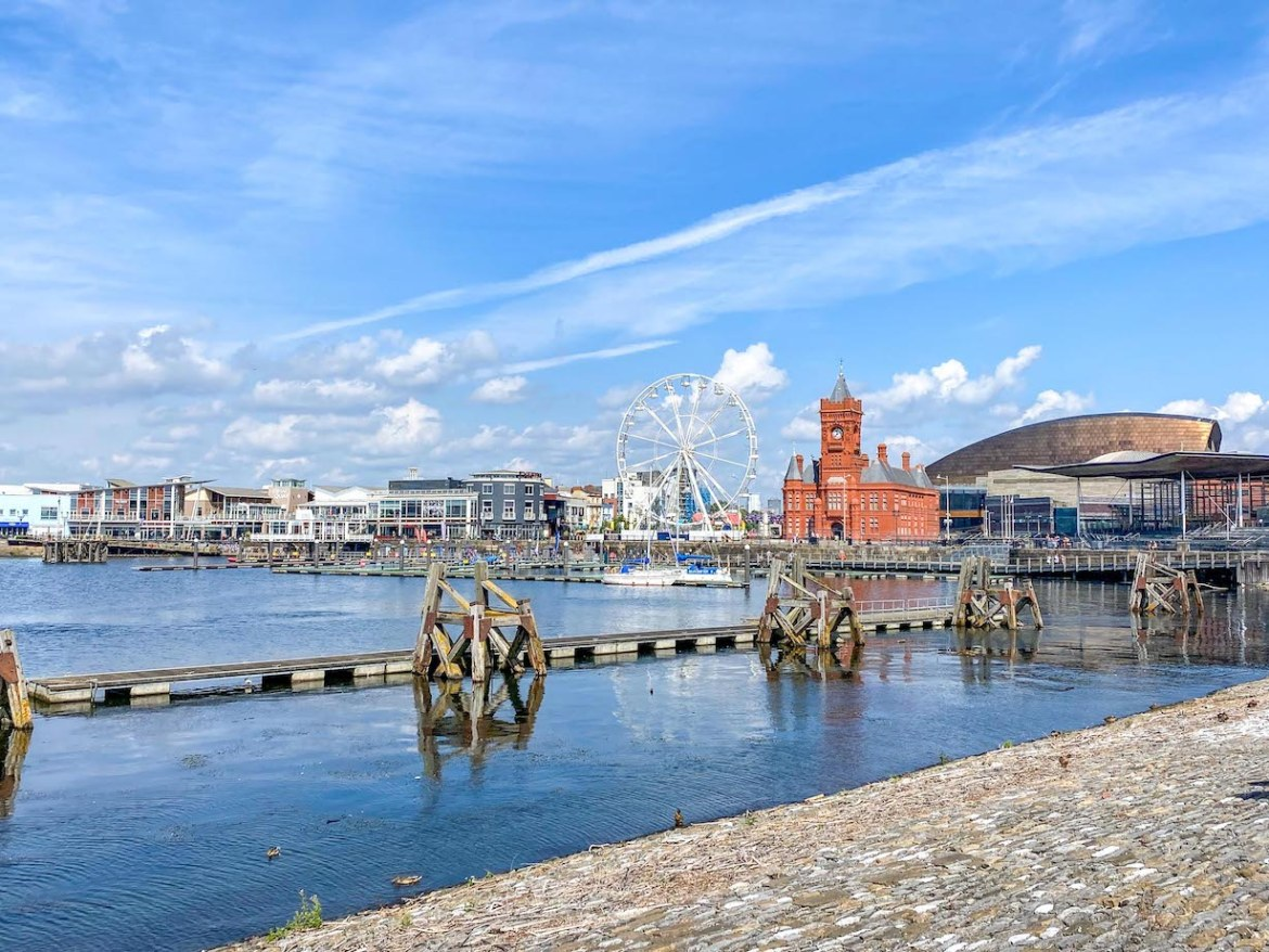 Things to do in Cardiff, things to do in Cardiff Bay, Mermaid Quay from water