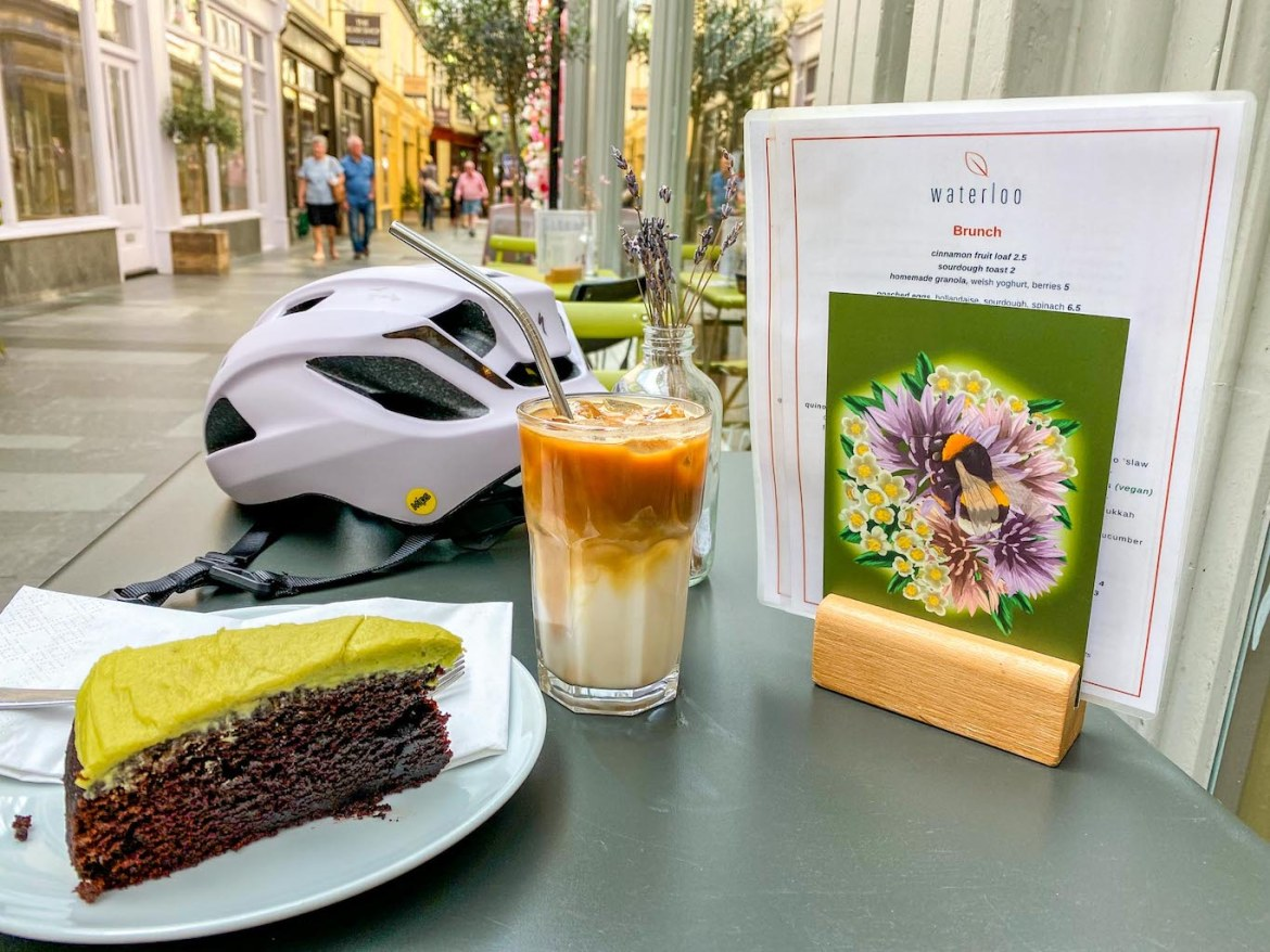 things to do in Cardiff, Waterloo cafe coffee and cake