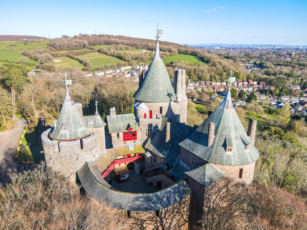 things to do in Cardiff, places to visit near Cardiff, Castle Coch