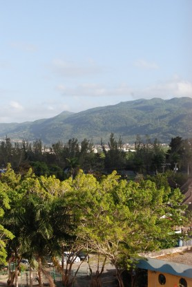 PArt fo the famous mountains of Jamaica.