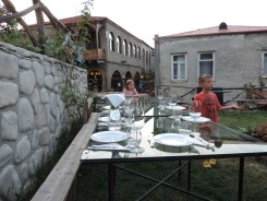 Our spot to dine under the stars at Pheasant's Tears