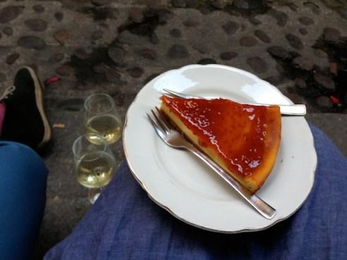 la deliziosa cheesecake
