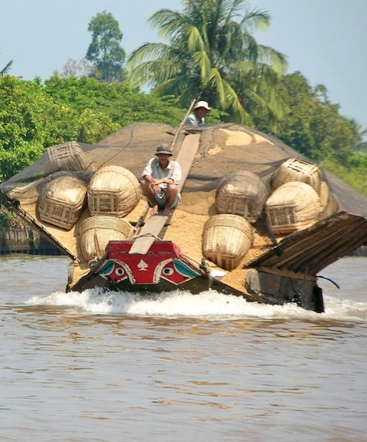 A Little About the Delta Rice Barge