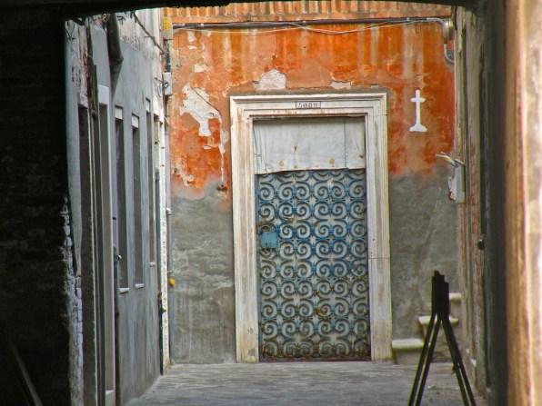Barred door, S. Margherita