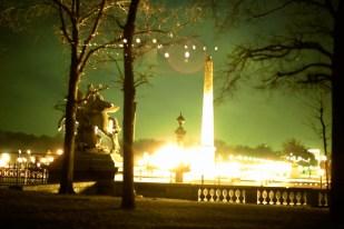 La Place de la Concorde a la nuit