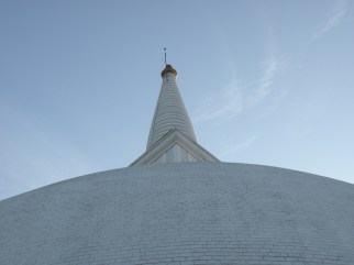 Curve of the Dagaba, Mihintale