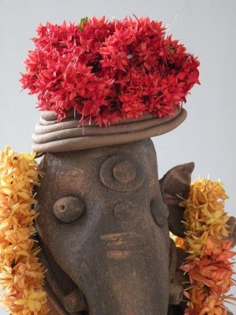 Ganesha's Red Hat