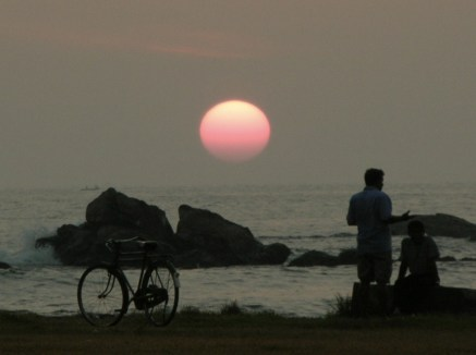 Stopped to Watch the Sunset, Galle