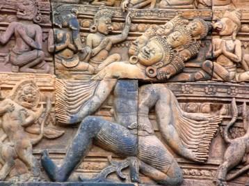 Banteay Bas Relief 1