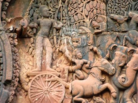 Banteay Bas Relief 11