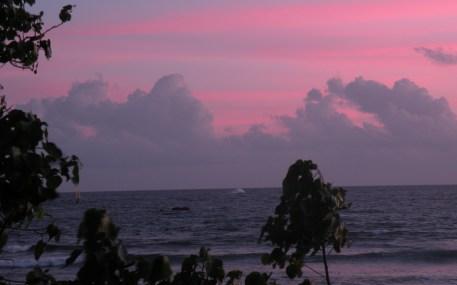 The Sun Sets On Unawatuna