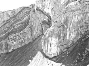 The Rainbow Hued Rock of Pilatus