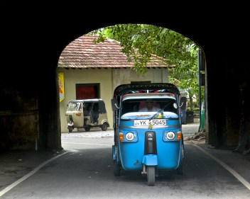 Three Wheelers, Galle Fort Old Gate
