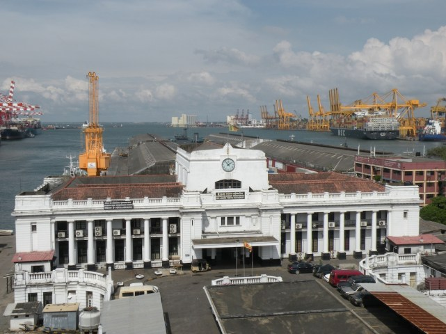 Colombo Port - colonial entrance
