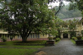 College entrance, Peradeniya University