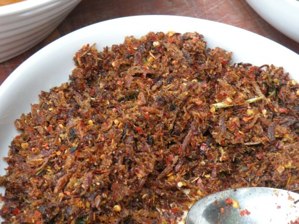 Dry Onion Sambol with Chillie