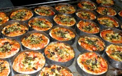 Mini Pizzas Out of the Oven
