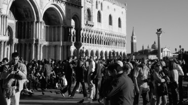 Piazza San Marco - Nowadays it's pretty well standing room only come Sunday evening when the cruise ships are in town