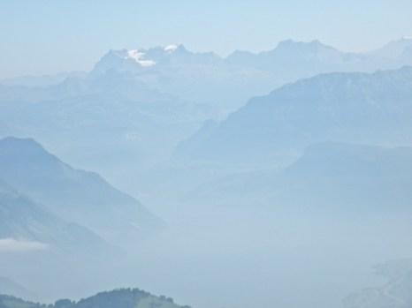 Through the Mist Pilatus 1