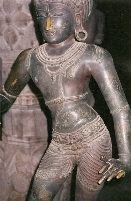 The over-loved bronze statue of Shiva has since been restored and now dances inside a glass box in the temple museum (which, from photographs I've seen, luckily can't diminish its grace and sinuous movement).