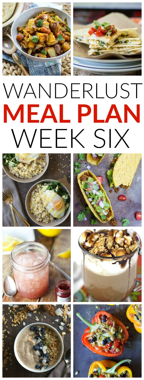 Wanderlust Meal Plan Week Kitchen
