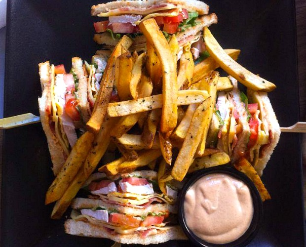 Αθάνατο club sandwich