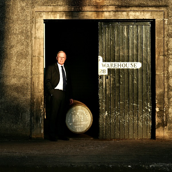 The Balvenie Malt Master David Stewart with cask 5576