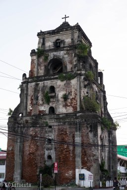 Sinking Bell Tower at Laoag City