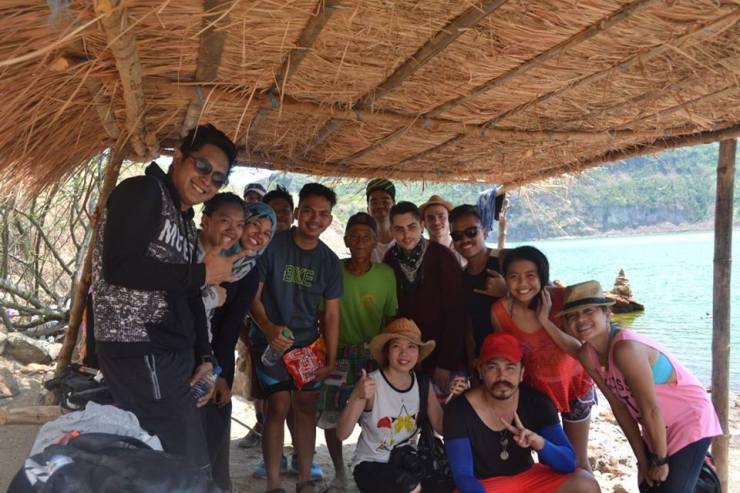 The WanderWalkers at Taal Volcano