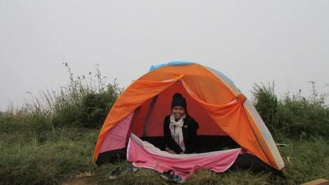Camping at DInh Lang Biang
