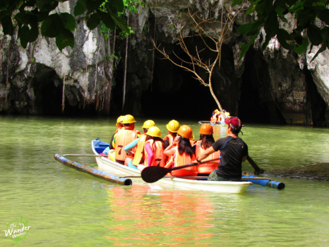 Entrance of the Puerto Princesa Underground River - Backpacking Palawan