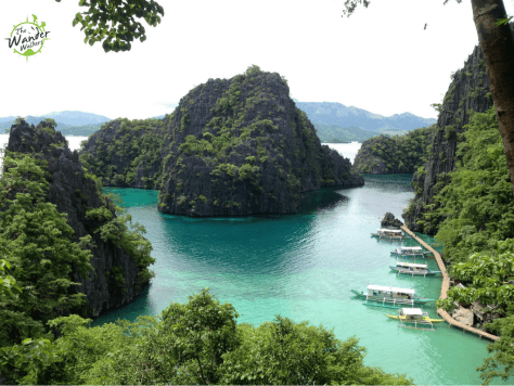 Kayangan view deck, Coron - Backpacking Palawan