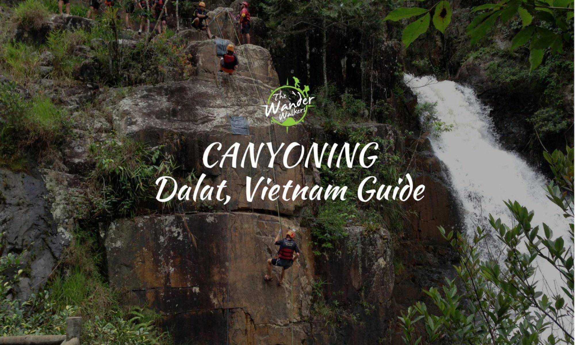dalat canyoning