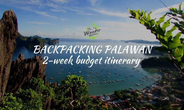 Backpacking Palawan Itinerary – 2 Week Budget Guide