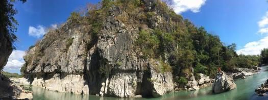 Panorama of Minalungao National Park