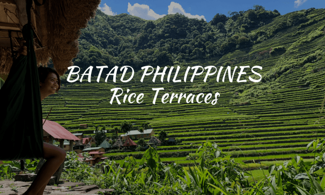Backpacking Philippines 112: Batad Rice Terraces, Banaue Philippines