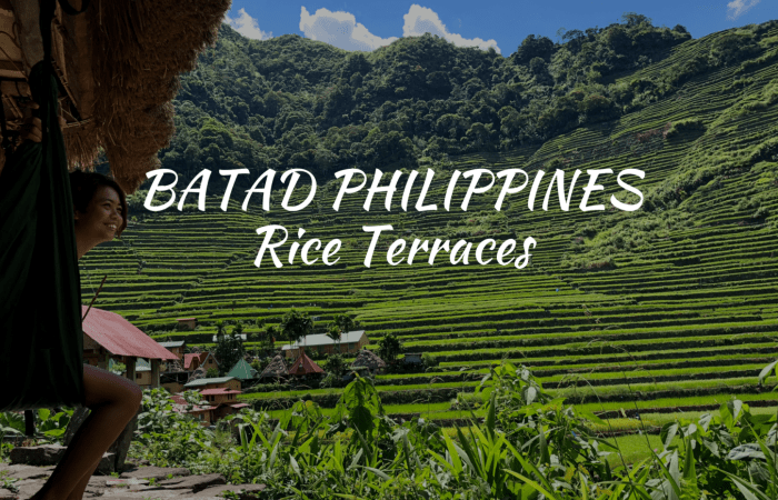 Batad Rice Terraces guide