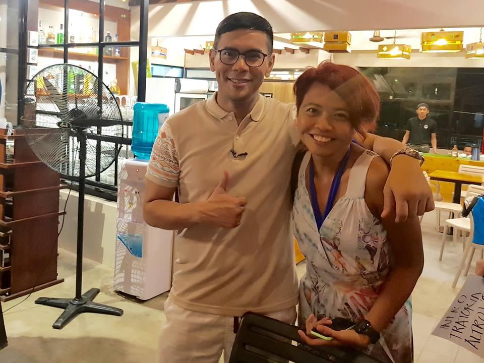 With Pop Talk host Kuya Tonipet