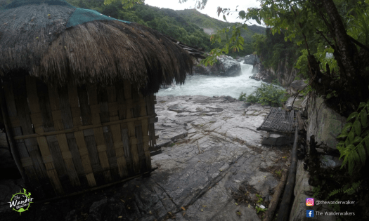 Shelters are available fronting Kili Falls