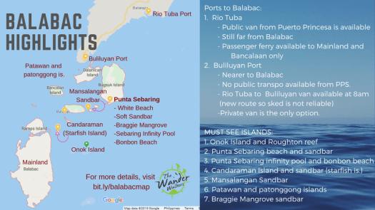 Balabac Map